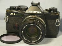 '    OM-2 SP CHIP 2 - NICE SET- ' Olympus OM-2SP Professional SLR Camera -CHIP 2 VERSION- + 50MM 1.8 Prime Lens £79.99